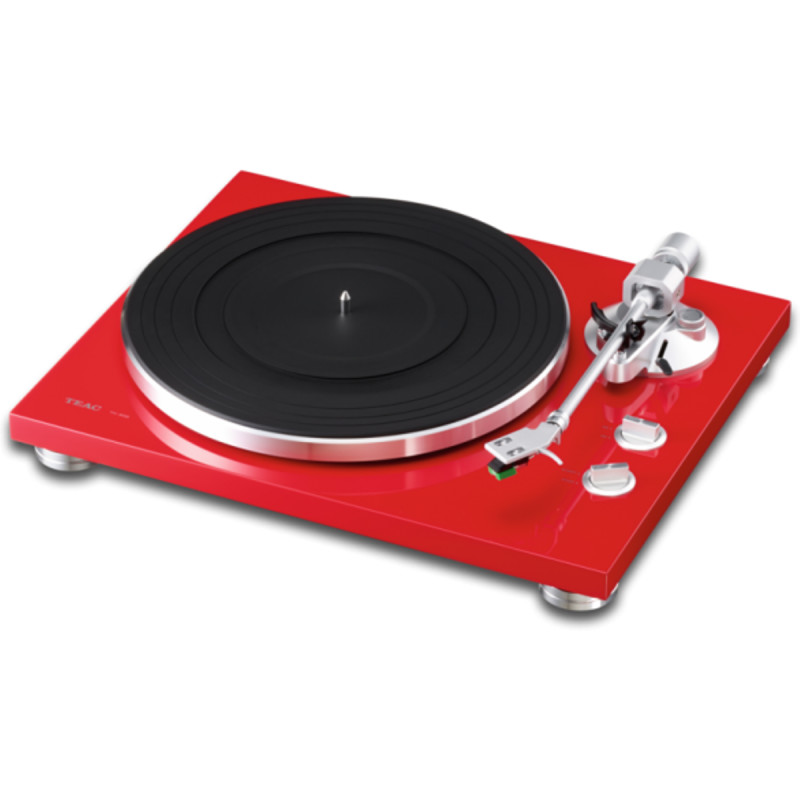 Castle Excellent Tuinmeubelen.Teac Tn300 2 Speed Analog Turntable In Red